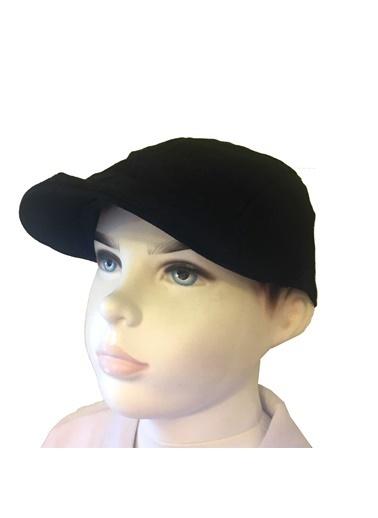 Quzucuk Kids Erkek Çocuk Kep Siyah
